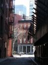 Un caratteristico angolo di Tribeca