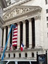 Facciata del New York Stock Exchange