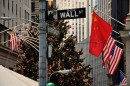 Wall Street - bandiere e decorazioni