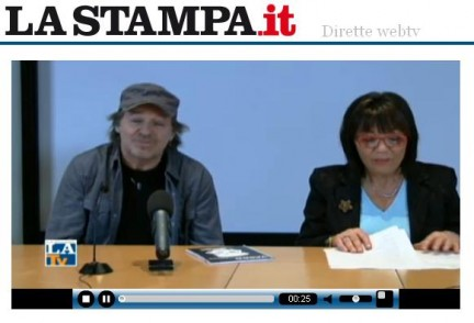 vasco rossi in chat alla stampa