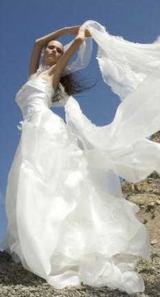 Sognare essere vestita di bianco