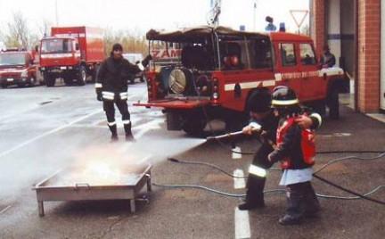 Pompieri ad Italia in Miniatura