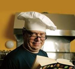 Il famoso gastronomo italiano