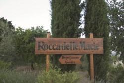Insegna della casa vitivinicola toscana