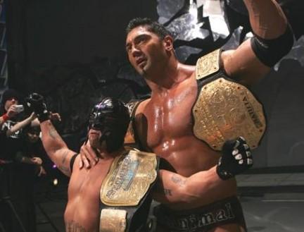 Batista & Rey Mysterio: Good friends, better enemiesBatista & Rey Mysterio: Good friends, better enemies