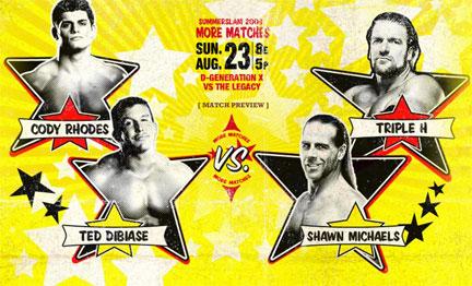 WWE Summerslam 2009 Shawn Michaels